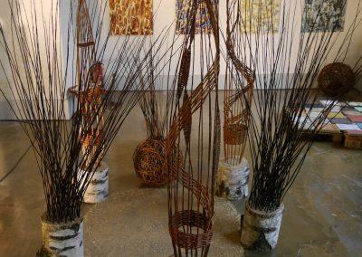 Weidenskulpturen